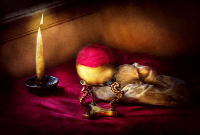 Photograph - Fantasy - The Crystal Ball by Mike Savad