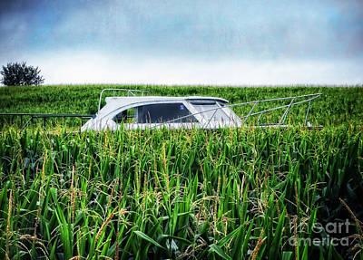 Maze Photograph - Far Afield by Edward Fielding