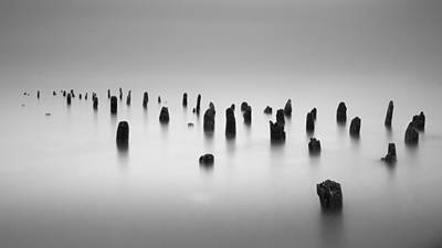 Pilings Photograph - Far And Away by Josh Eral