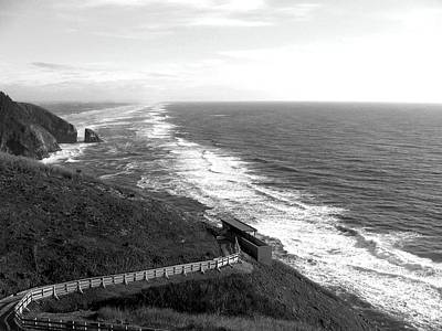 Ocean Vista Photograph - Far As The Eye Can See by Will Borden
