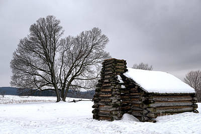 Cabins Photograph - Far From The Battle by Olivier Le Queinec