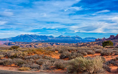 Photograph - Far Horizon At Arches by John M Bailey