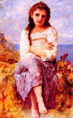Digital Art - Far Niente by William Bouguereau