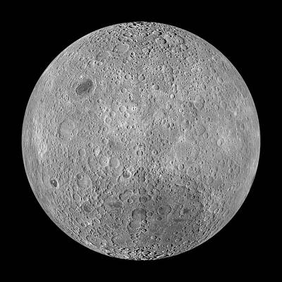 180 Wall Art - Photograph - Far Side Of The Moon by Nasa/science Photo Library