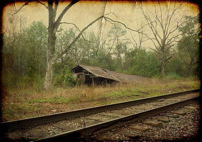 Abandoned Photograph - Far Side Of The Tracks by Carla Parris