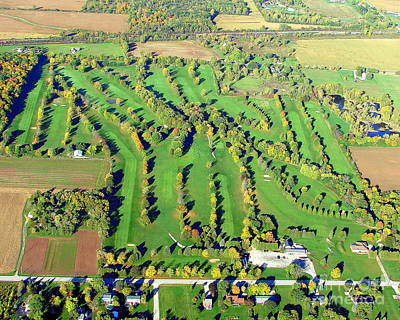 Photograph - F-010 Far View Golf Oshkosh Wisconsin by Bill Lang