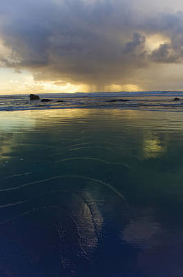 Faraway Rain Art Print by Adria Trail