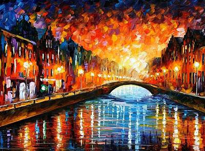 Unity Painting - Farewell by Leonid Afremov
