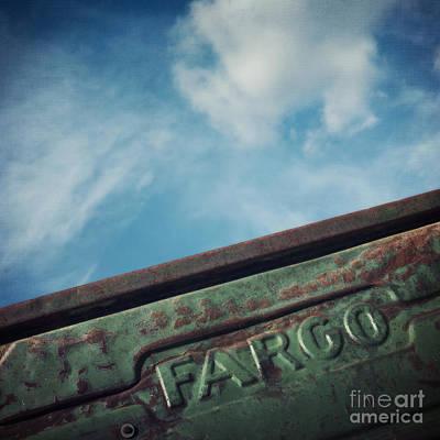Rusty Truck Wall Art - Photograph - Fargo by Priska Wettstein