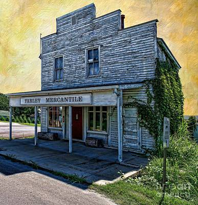 Photograph - Farley Mercantile by Liane Wright