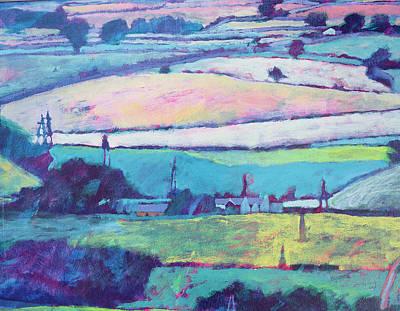 Farm Art Print by Paul Powis