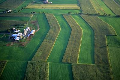 Fathers Day 1 - Farm and field design aerial by Blair Seitz