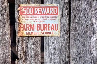 Farm Bureau Art Print by JC Findley
