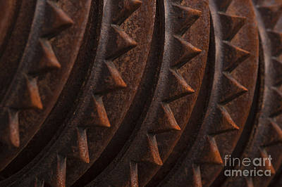 Photograph - Farm Equipment Abstracts by Jim Corwin