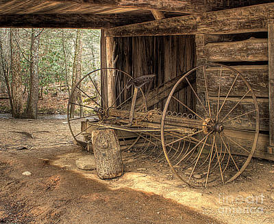 Photograph - Farm Equipment by Photography by Laura Lee