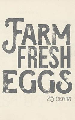 Painting - Farm Fresh Eggs by Katie Doucette