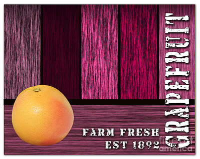 Grapefruit Mixed Media - Farm Fresh by Marvin Blaine