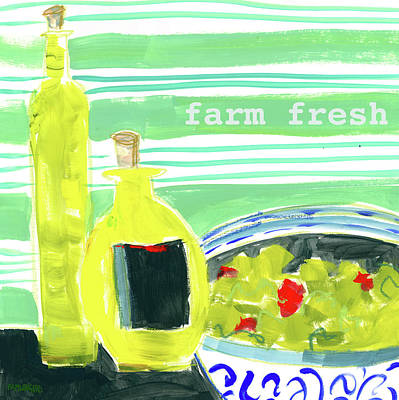Farm Fresh Art Print by Pamela J. Wingard