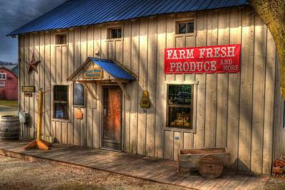 Farm Fresh Produce Art Print by Tri State Art