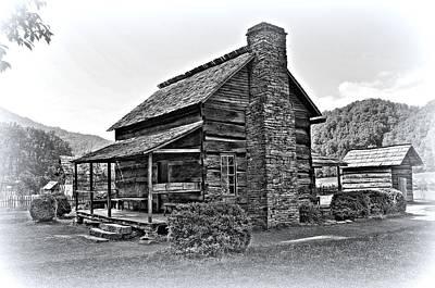 Farm House 1 Art Print by Todd Hostetter
