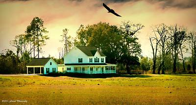Photograph - Farm House by Debra Forand