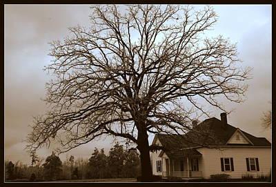 Photograph - Farm House by Lisa Wooten
