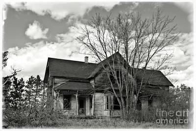 Photograph - Farm House Ruins by Ms Judi