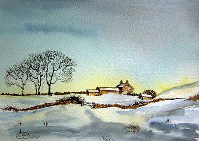 Farm In N.e Yorkshire Original by Jean Walker