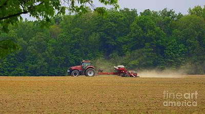 Photograph - Farm Land by Rachel Munoz Striggow