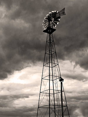 Photograph - Farm Market Windmill by Shawna Rowe