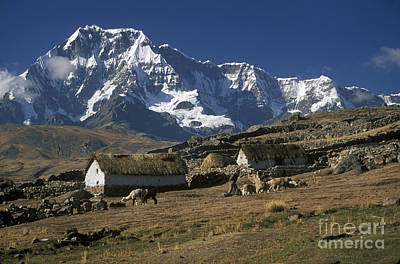 Photograph - Farm Near Ausangate Peru by Craig Lovell