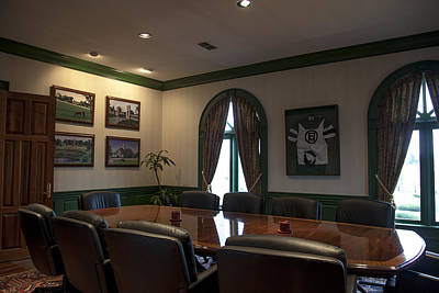 Photograph - Farm Office Conference Room by Jack R Perry