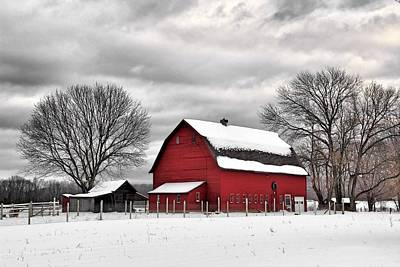 Photograph - Farm On Ferry Lane by Andrea Galiffi