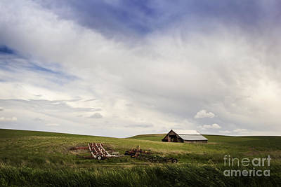 Photograph - Farm On The Palouse by Sonya Lang