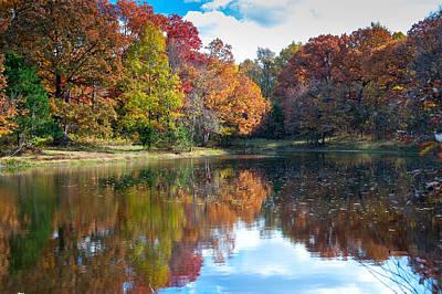Photograph - Farm Pond by Steve Stuller