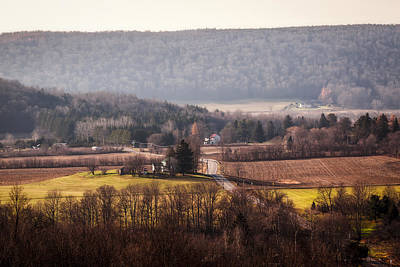 Photograph - Farm Road by Nick  Shirghio