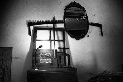 Found Object Art Photograph - Farm Salvage Found Objects Store II by Toni Hopper