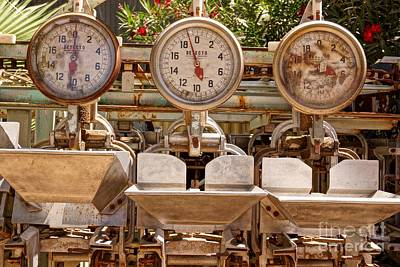 Photograph - Farm Scales by Kerri Mortenson