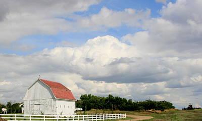 Photograph - Farm Scene by Betty-Anne McDonald