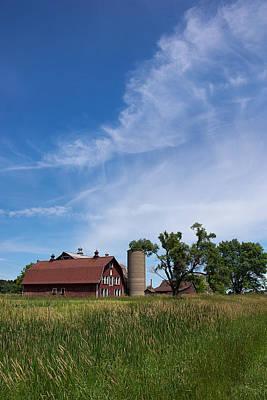 Photograph - Farm Serenity by Leda Robertson