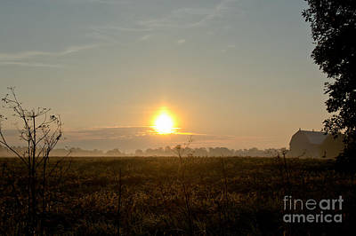 Photograph - Farm Sunrise by Cheryl Baxter