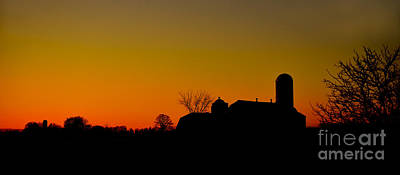 Photograph - Farm Sunset by Joshua McCullough