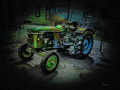 Photograph - Farm Tractor by Ericamaxine Price
