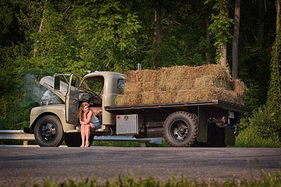 Photograph - Farm Truck by Dennis James