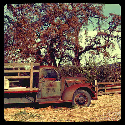 Photograph - Farm Truck by Jill Battaglia
