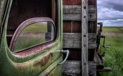 Photograph - Farm Truck by Nikolyn McDonald