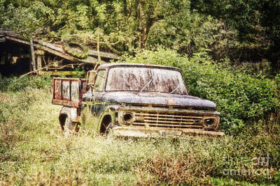 Alligator Bayou Photograph - Farm Truck by Scott Pellegrin