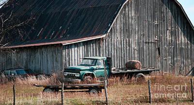 Truck Photograph - Farm Use Gmc by Kerri Farley