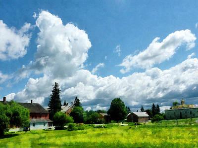 Photograph - Farm Vista by Susan Savad