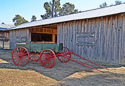 Photograph - Farm Wagon by Linda Brown